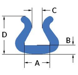 Profil U Tulip din polietilena expandata (PEE)