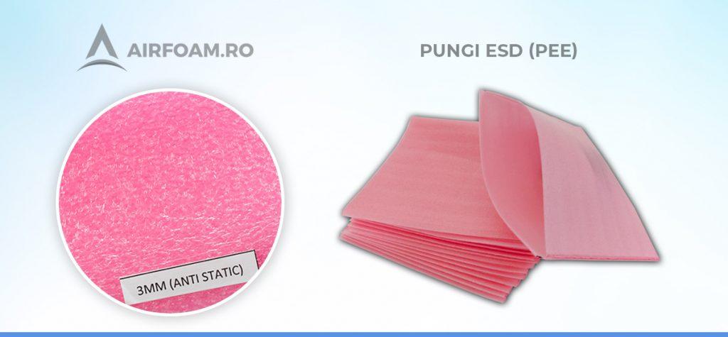 Punga ESD polietilena expandata