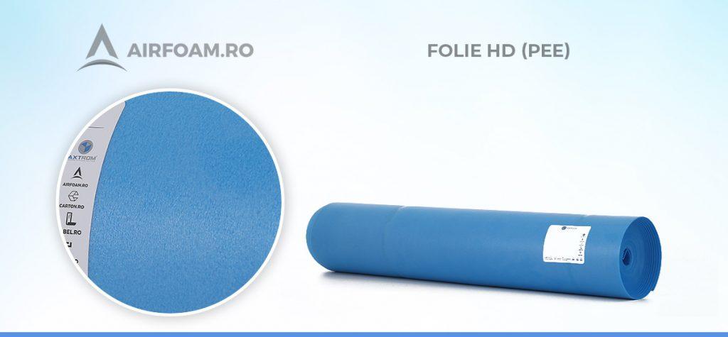 Folie din polietilena expandata HD